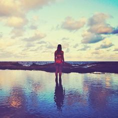The ocean, the sky & love: Endless. Instagram: @wearehandsome
