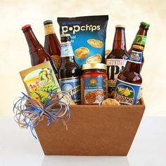 Father's Day Deluxe Beer and SnacksPrice: $74.99 Free Shipping #amerigiftbaskets #gifts #baskets #dad #Fathers For more information visit: www.AmeriGiftBaskets.com