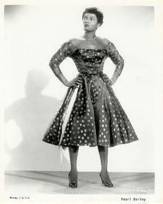 Pearl Bailey...love this dress!