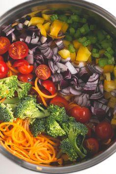 Simple vegan detox soup - Look at this simple vegan detox…