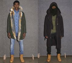 A.P.C. x Kanye West collection (Fall/Winter 2014)