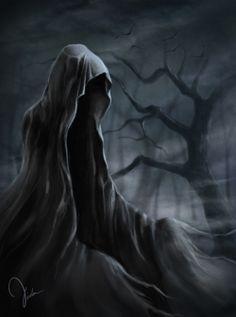 Creatures from Dreams — Mist by ~AblaAbla —x— More: Death Reaper, Grim Reaper Art, Don't Fear The Reaper, Reaper Tattoo, Gothic Fantasy Art, Beautiful Dark Art, Bild Tattoos, Demon Art, Chicano Art