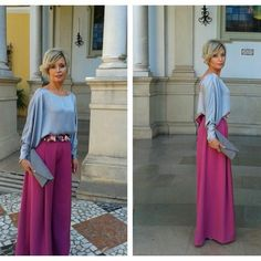 Image may contain: 2 people Dress Over Pants, The Dress, Hijab Fashion, Girl Fashion, Fashion Outfits, Evening Outfits, Evening Dresses, Skirt Outfits, Chic Outfits
