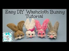 A Washcloth Isn't Just A Washcloth When It Can Be A Boo Boo Bunny For Your Kids! – Starting Chain