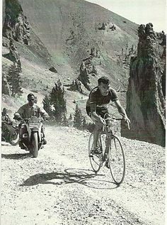Louison Bobet, Col d'Izoard, 1953