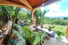 Villa L'Ankarena Terrasse exotique île Sainte Marie Madagascar  Ecolodge le Ravoraha