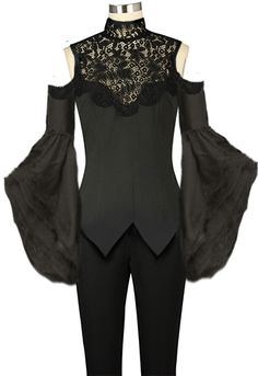 Victorian Gothic Top Chic Star design by Amber Middauhg