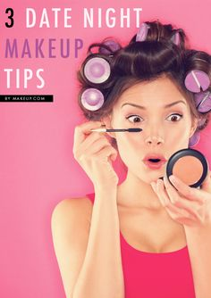 3 No-Fuss Makeup Tips for Date Night // love this!