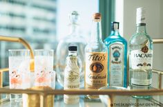 The Skinny Confidential talks vintage bar cart styling