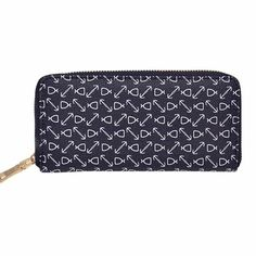 Women Wallet Fashion Printing Zipper Coin Purse Long Wallet Card Holders Handbag Ladies Large Capacity Clutch Wallet For Women Card Wallet, Clutch Wallet, Coin Card, Leather Purses, Leather Wallet, Pu Leather, Branded Wallets, Womens Purses