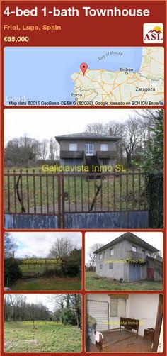 4-bed 1-bath Townhouse in Friol, Lugo, Spain ►€65,000 #PropertyForSaleInSpain
