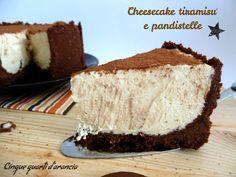 cheesecake tiramisù e pandistelle