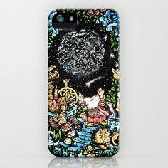 """Zodiac Circle"" Original Limefish Studio Painting / iPhone & iPod Case For Sale"