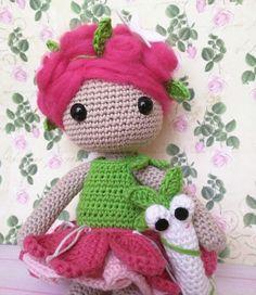 Roxy, el hada de las flores de Rosebud por DaWanda.com