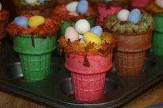 Easter nest craft/snack for kids
