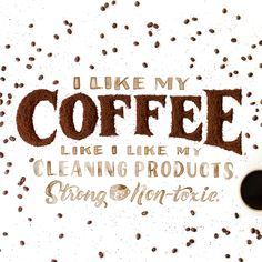 As Clean Freaks, we don't need much motivation to clean but a nice cup of coffee never hurts.