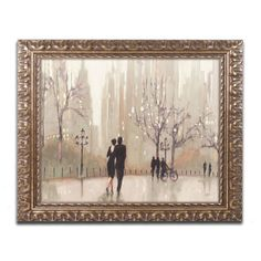 Trademark Fine Art 'An Evening Out Neutral' by Julia Purinton Framed Painting Print