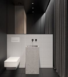 Luxury Master Bathroom Ideas is categorically important for your home. Whether you pick the Small Bathroom Decorating Ideas or Dream Master Bathroom Luxury, you will make the best Luxury Bathroom Master Baths Wet Rooms for your own life. White Bathroom, Bathroom Interior, Modern Bathroom, Small Bathroom, Bathroom Ideas, Interior Livingroom, Shower Ideas, Bad Inspiration, Bathroom Inspiration