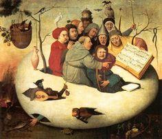 Il concerto nell'uovo - XVI sec. - Hieronimus Bosch