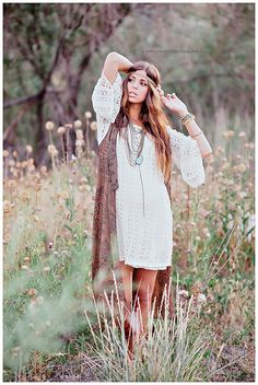 Fun boho look for seniors / France Photography #photography #amazing