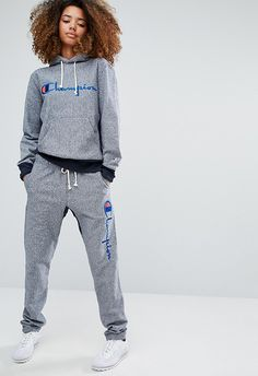 Dressing multiple sports teams during the 90s, Champion has earned its style cred. It burst back on the scene this year with throwback threads too good to say no to. Go head-to-toe with this tracksuit – think the grown-up answer to your high-school Juicy two-piece
