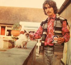George and friend...