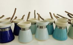 mosantimetre turkish coffee pots - won't stop pinning this until i manage to get one of these..love them badly!