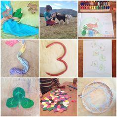 WillywamWhimsy Homeschooling Blog: September 2015: Grade One Language (Letter K, Q) & Math (Number 3, 4)