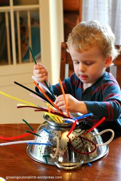 Things for kiddies to do on a rainy or snowy day, without robbing the bank ;)