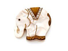 Elephant Compact Mirror @Krystal Purkhiser <3