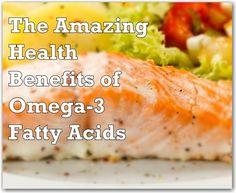 Good to know The Amazing Health Benefits of Omega-3's - Eat. Sleep. Be. #healthy from @eatbesleep via @Jessica Cohen @EatSleepBe