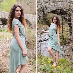 #cool & #fresh #mint @fiafashionbrand dress  #lookbook #lovefashiontravels #lovefashiongr #fashion #fashionblog #fashionblogger #greekbloggers #visitgreece #visitkalamata #nedousa #nature #fiafashion #followme #ootd #sotd #wearthistoday #tb