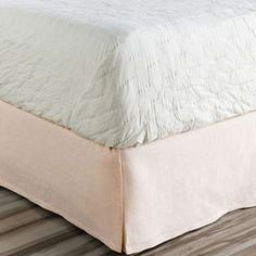 Allyson Bed Skirt in Pink