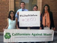 #WeStandWithKevin! We support #SB350! #ActOnClimate @kdeleon Environmental Law, Conservation, California, Twitter, Coin Grading, Canning