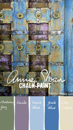 una paleta de colores que representa en feng shui el elemento madera. son los colores de la naturaleza. www.espaciosawa.com