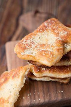 Easy Gralic Parmesan Fry Bread by Oh Sweet Basil