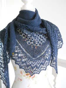 "Ravelry ""Rock Island"" shawl - currently hoarding shawl patterns"