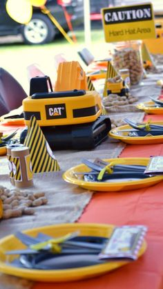 Under Construction Birthday Party