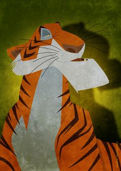 Shere Khan by Chernin.deviantart.com on @deviantART