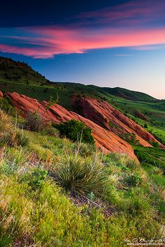 Colors Of A Colorado Spring Sunrise