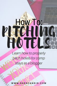 Want to pitch hotels