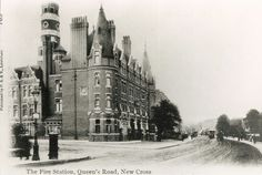 New Cross, Fire Station, Queens Road c.1903