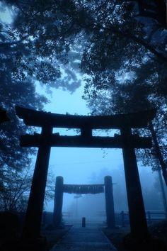 Torii gate to a Shinto shrine Japan Japanese Shrine, Japanese Art, Beautiful World, Beautiful Places, Beautiful Pictures, Yatogami Noragami, Torii Gate, Plakat Design, Art Asiatique