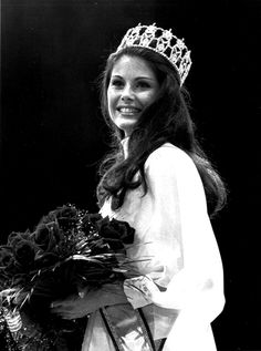 Miss Minnesota Barbara Peterson Crowned Miss USA, 1976. She later wrote a book on winning pageants, which I read perhaps 500 times before competing in my first pageant.