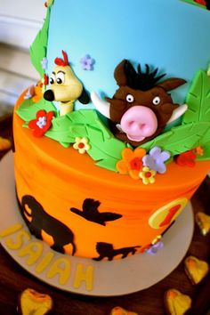 Little Wish Parties Disney Lion King First Birthday https