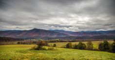 Gorgeous Cades Cove scene in the Smokies
