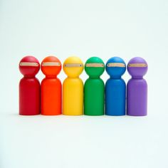 Rainbow Ninjas by Goose Grease. Because they look so dour in black all the time.
