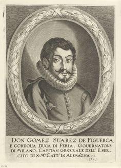 Johann Friedrich Leonard | Retrato de Gómez Suárez de Figueroa, Johann Friedrich Leonard, 1643 - 1680 | Retrato del diplomático y comandante militar Gómez Suárez de Figueroa, Duque de Feria.