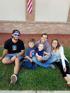 Florida family visits Indiana family