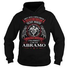 ABRAMO Good Heart - Last Name, Surname TShirts